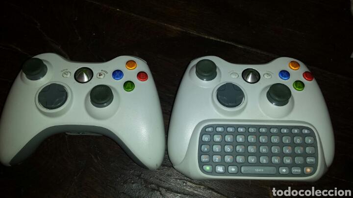 MANDO XBOX 360 2 MANDOS Y TECLADO (Juguetes - Videojuegos y Consolas - Microsoft - Xbox 360)