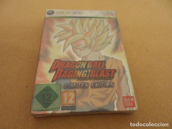 DRAGON BALL RAGING BLAST EDICIÓN LIMITADA XBOX 360 *NUEVO (VER DESCRIPCIÓN) (Juguetes - Videojuegos y Consolas - Microsoft - Xbox 360)