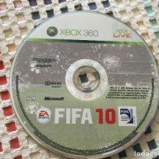 Videojuegos y Consolas: FIFA 10 MICROSOFT XBOX 360 X-BOX X360 KREATEN. Lote 131753086