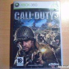 Videojuegos y Consolas: CALL OF DUTY 3 (XBOX 360). Lote 131979714