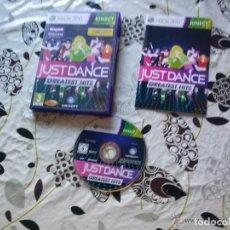 Videojuegos y Consolas: JUEGO XBOX 360 JUST DANCE GREA TEST HITS. Lote 131982246