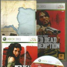 Videojuegos y Consolas: XBOX 360 RED DEAD REDEMPTION VIDEOJUEGO EN EXCELENTE ESTADO, INSTRUCCIONES EN ESPAÑOL. Lote 136831792