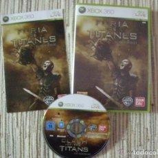 Videojuegos y Consolas: JUEGO XBOX 360 FURIA DE TITANES. Lote 132069346