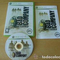 Videogiochi e Consoli: JUEGO XBOX 360 BATTLEFIELD BAD COMPANY. Lote 132254698