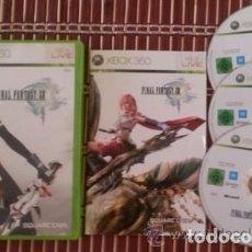 Videojuegos y Consolas: JUEGO XBOX 360 FINAL FANTASY XIII. Lote 132254742
