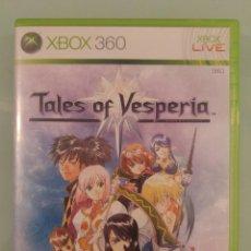 Videojuegos y Consolas: TALES OF VESPERIA ED FÍSICA PARA XBOX 360 SIN MANUAL. Lote 132387422