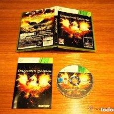 Videojuegos y Consolas: JUEGO XBOX 360 DRAGON'S DOGMA. Lote 132440266