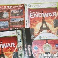 Videojuegos y Consolas: JUEGO XBOX 360 TOM CLANCY'S ENDWAR. Lote 132530522