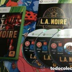 Videojuegos y Consolas: JUEGO XBOX 360 L.A NOIRE. Lote 132883586