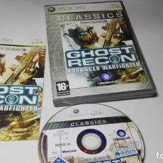 Videojuegos y Consolas: GHOST RECON ADVANCED WARFIGHTER ( XBOX 360- PAL- ESPAÑA) . Lote 132887594