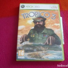 Videojuegos y Consolas: TROPICO 3 XBOX 360 PAL ESPAÑA. Lote 132904754