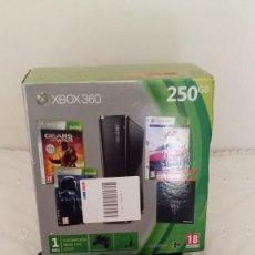 Videojuegos y Consolas: CONSOLA XBOX 360 CON CAJA ORIGINAL - 250 GB - LEER DESCRIPCION. Lote 132920174