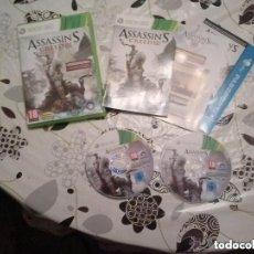 Videojuegos y Consolas: JUEGO XBOX 360 ASSASSIN'S CREED III. Lote 132962506