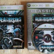 Videojuegos y Consolas: DEAD RISING XBOX 360. Lote 133000886