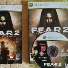 Videojuegos y Consolas: FEAR 2 XBOX 360. Lote 133001374