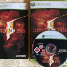 Videojuegos y Consolas: RESIDENT EVIL 5 XBOX 360. Lote 133002294