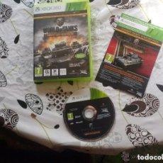 Videojuegos y Consolas: JUEGO XBOX 360 WORLD OF TANKS. Lote 133090334