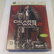 Videojuegos y Consolas: GEARS OF WAR 2 EDICION COLECCIONISTA XBOX360 X-BOX 360 PAL-ESPAÑA. Lote 133451326