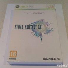 Videojuegos y Consolas: FINAL FANTASY XIII EDICION COLECCIONISTA XBOX360 X-BOX 360 PAL-ESPAÑA. Lote 133451538