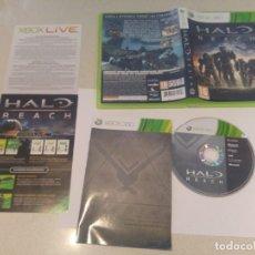 Videojuegos y Consolas: HALO REACH XBOX360 COMPLETO PAL-ESPAÑA . Lote 133455218