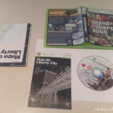 Videojuegos y Consolas: GTA 4 GRAND THEFT AUTO IV XBOX360 COMPLETO PAL-ESPAÑA . Lote 133455990