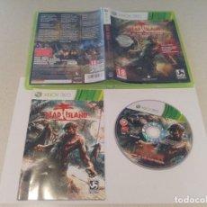 Videojuegos y Consolas: DEAD ISLAND GOTY EDITION XBOX360 COMPLETO PAL-ESPAÑA . Lote 133456190