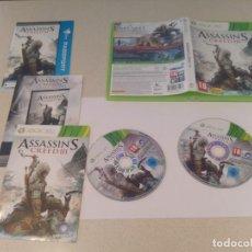 Videojuegos y Consolas: ASSASSINS CREED III 3 XBOX360 COMPLETO PAL-ESPAÑA . Lote 133456298