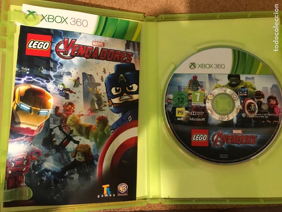Juego Xbox 360 Lego Marvel Los Vengadores Comprar Videojuegos Y