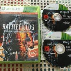 Videojuegos y Consolas: BATTLEFIELD 3 PREMIUM EDITION XBOX 360 X360 X-360 DARKS SOUL KREATEN . Lote 133498130