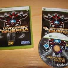 Videojuegos y Consolas: JUEGO XBOX 360 EL UNIVERSO EN GUERRA ASALTO A LA TIERRA. Lote 134149818