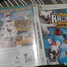 Videojuegos y Consolas: RAYMAN RAVING RABBIDS XBOX 360 PAL ES. Lote 134957110
