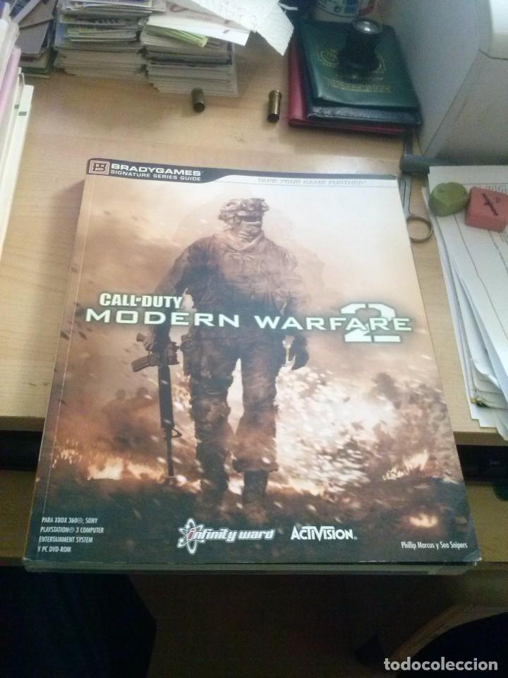 call of duty modern warfare 2 - guia oficial para playstation 3 y xbox 360 305 páginas, usado segunda mano