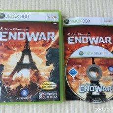 Videojuegos y Consolas: TOM CLANCY'S ENDWAR END WAR XBOX 360 X360 X-360 KREATEN. Lote 135194218