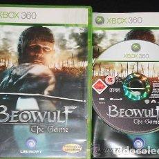 Videojuegos y Consolas: JUEGO XBOX 360 BEOWULF. Lote 135282242