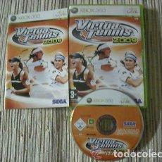 Videojuegos y Consolas: JUEGO XBOX 360 VIRTUA TENNIS 2009. Lote 135282274