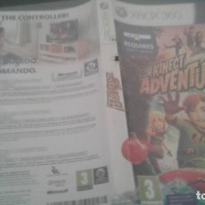 Videojuegos y Consolas: KINECT ADVENTURES + KINECT SPORTS MICROSOFT XBOX 360. Lote 135317134