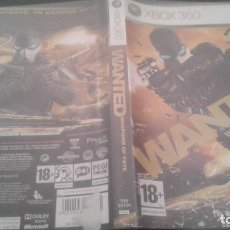 Videojuegos y Consolas: WANTED ( WEAPONS OF FATE ) - XBOX 360 - VERSION PAL. Lote 135514214