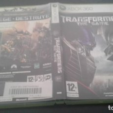Videojuegos y Consolas: TRANSFORMERS THE GAME PAL ESP XBOX 360. Lote 136188766