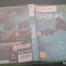 Videojuegos y Consolas: BRINK - XBOX 360 - PAL ESPAÑA (. Lote 136189798