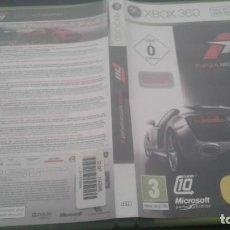 Videojuegos y Consolas: FORZA MOTORSPORT 3 XBOX 360 . Lote 136190290
