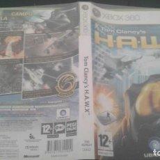 Videojuegos y Consolas: TOM CLANCYS H.A.W.X. XBOX 360 PAL. Lote 136190706
