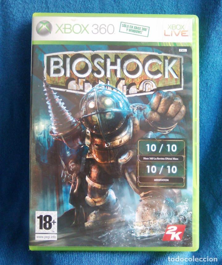 VIDEOJUEGO BIOSHOCK 1, PARA LA CONSOLA XBOX 360. 2K TALES. JUEGO DE AVENTURAS. (Juguetes - Videojuegos y Consolas - Microsoft - Xbox 360)