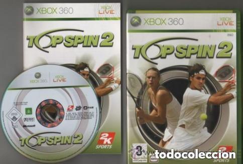 JUEGO XBOX 360 TOP SPIN 2 (Juguetes - Videojuegos y Consolas - Microsoft - Xbox 360)