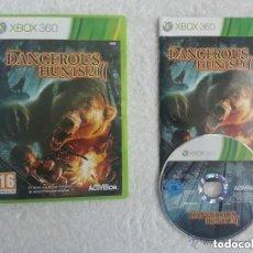 Videojuegos y Consolas: JUEGO XBOX 360 DANGEROUS HUBTS 2011. Lote 136353574