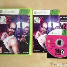 Videojuegos y Consolas: JUEGO XBOX 360 KANE&LYNCH 2 DOG DAYS. Lote 136353870