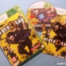 Videojuegos y Consolas: JUEGO XBOX 360 NEVER DEAD. Lote 136716082