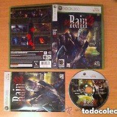 Videojuegos y Consolas: JUEGO XBOX 360 VAMPIRE RAIN. Lote 137396186