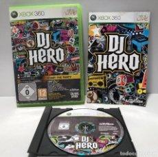 Videojuegos y Consolas: DJ HERO XBOX 360. Lote 137495994