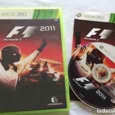 Videojuegos y Consolas: JUEGO XBOX 360 F1 2011. Lote 138114790