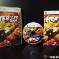 Videojuegos y Consolas: JUEGO XBOX 360 HEROES OVER EUROPA. Lote 139368570
